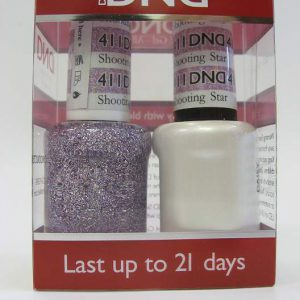 DND Gel Polish / Nail Lacquer Duo - 411 Shooting Star