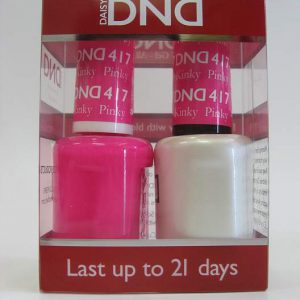 DND Gel Polish / Nail Lacquer Duo - 417 Pinky Kinky