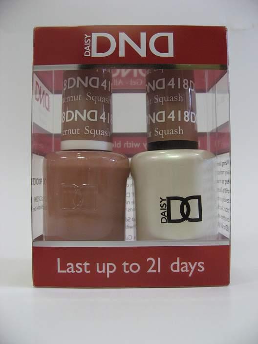 DND Gel Polish / Nail Lacquer Duo - 418 Butternut Squash