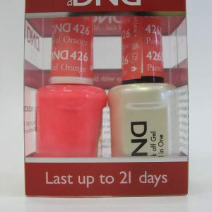 DND Gel Polish / Nail Lacquer Duo - 426 Pastel Orange