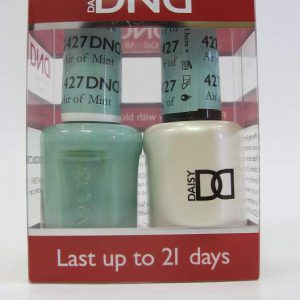 DND Gel Polish / Nail Lacquer Duo - 427 Air Of Mint