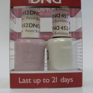 DND Soak Off Gel & Nail Lacquer 452 - Sweet Romance