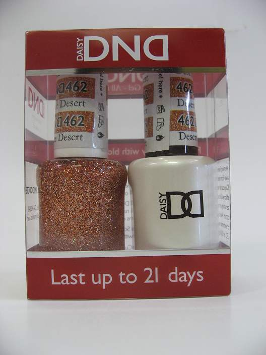 DND Soak Off Gel & Nail Lacquer 462 - Desert Spice