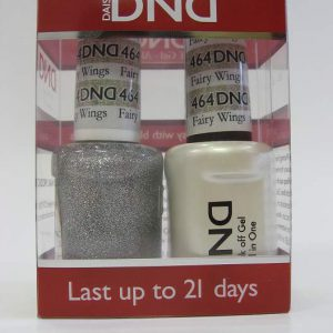 DND Soak Off Gel & Nail Lacquer 464 - Fairy Wings