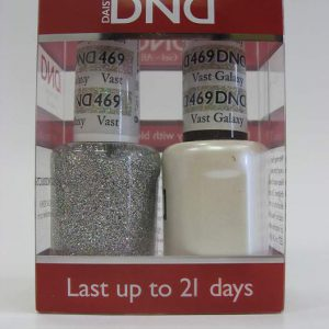 DND Soak Off Gel & Nail Lacquer 469 - Vast Galaxy
