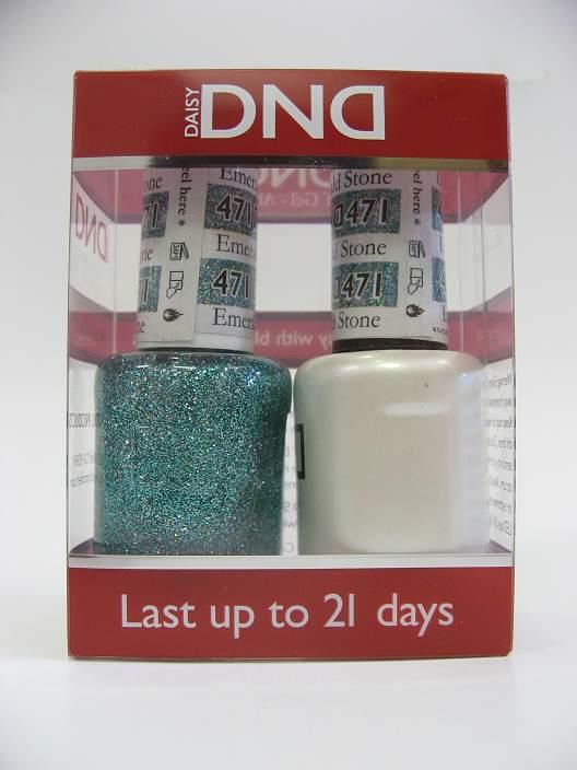 DND Soak Off Gel & Nail Lacquer 471 - Emerald Stone