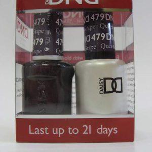 DND Soak Off Gel & Nail Lacquer 479 - Queen Of Grape