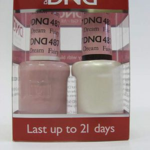 DND Soak Off Gel & Nail Lacquer 487 - Fairy Dream
