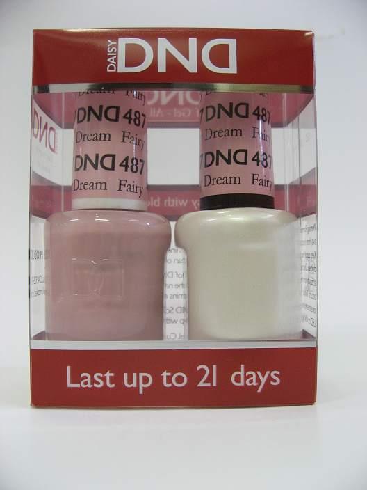 DND Soak Off Gel & Nail Lacquer 487 - Fairy Dream