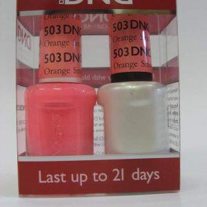 DND Soak Off Gel & Nail Lacquer 503 - Orange Smoothie