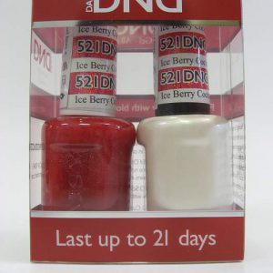DND Soak Off Gel & Nail Lacquer 521 - Ice Berry Cocktail