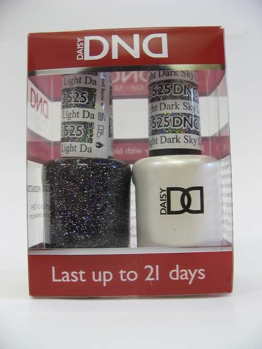 DND Soak Off Gel & Nail Lacquer 525 - Dark Sky Light