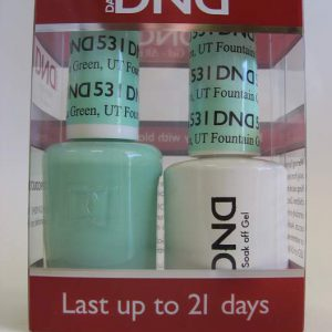 DND Soak Off Gel & Nail Lacquer 531 - Fountain Green, UT