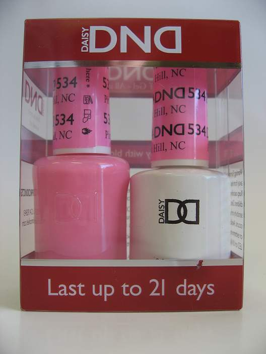 DND Soak Off Gel & Nail Lacquer 534 - Pink Hill, NC