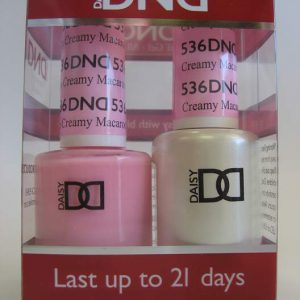 DND Soak Off Gel & Nail Lacquer 536 - Misty Rose