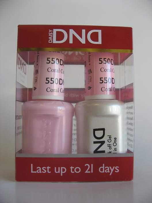DND Gel & Polish Duo 550 - Coral Castle, FL