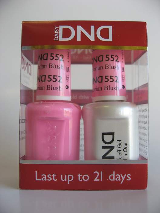 DND Gel & Polish Duo 552 - Victorian Blush