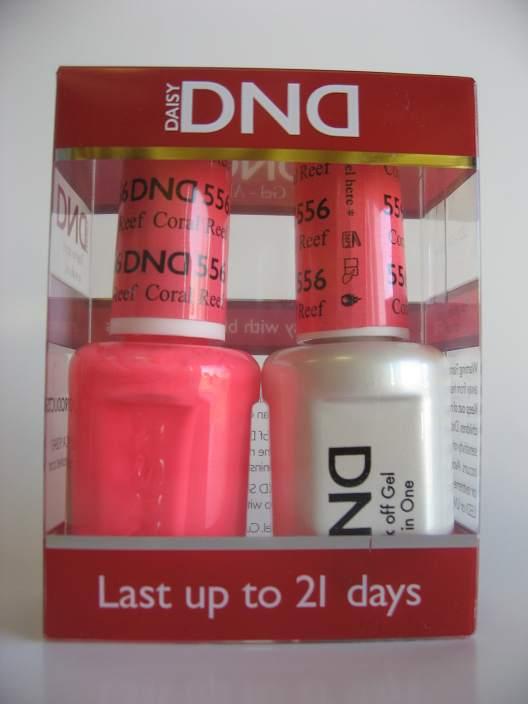 DND Gel & Polish Duo 556 - Coral Reef