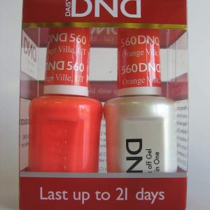 DND Gel & Polish Duo 560 - Orange Ville, UT