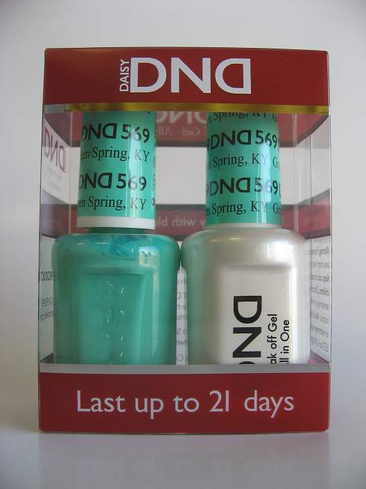 DND Gel & Polish Duo 569 - Green Spring, KY