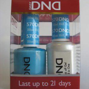 DND Gel & Polish Duo 570 - Blue Hill, NE