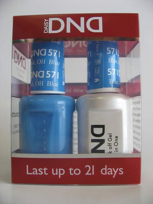 DND Gel & Polish Duo 571 - Blue Ash, OH