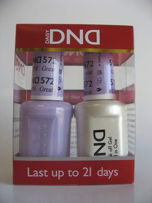 DND Gel & Polish Duo 572 - Great Smoky Mountain, TN