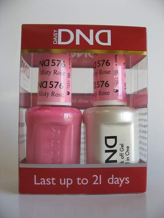 DND Gel & Polish Duo 576 - Misty Rose
