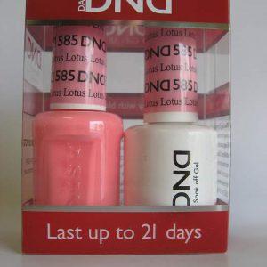 DND Gel & Polish Duo 585 - Lotus