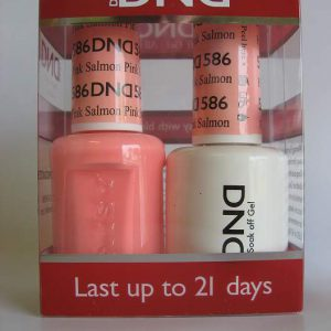 DND Gel & Polish Duo 586 - Pink Salmon