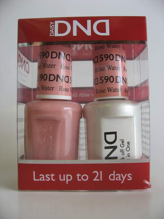 DND Gel & Polish Duo 590 - Rose Water
