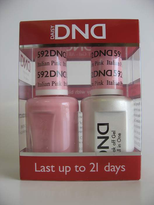DND Gel & Polish Duo 592 - Italian Pink