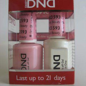 DND Gel & Polish Duo 593 - Pink Beauty
