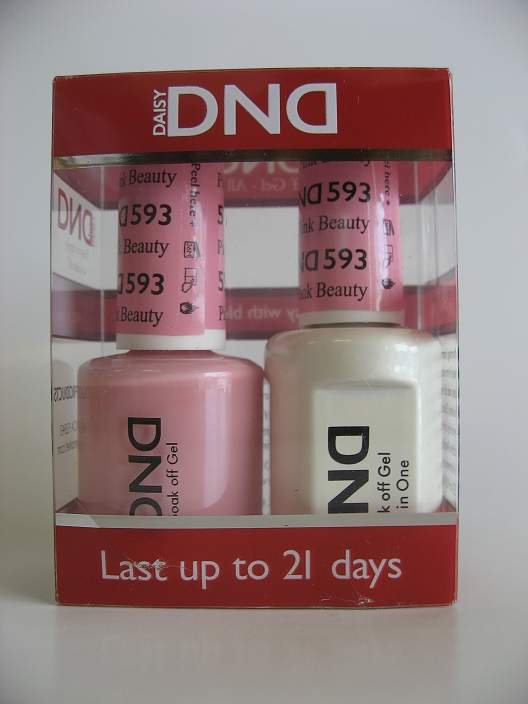 DND Gel & Polish Duo 593 - Pink Beauty