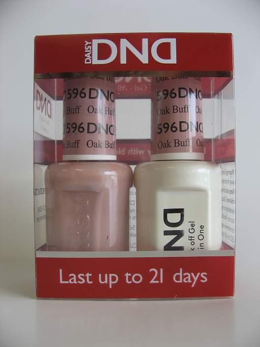 DND Gel & Polish Duo 596 - Oak Buff