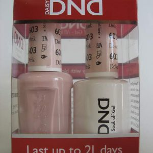 DND Gel & Polish Duo 603 - Dolce Pink