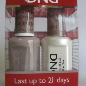 DND Gel & Polish Duo 604 - Cool Gray