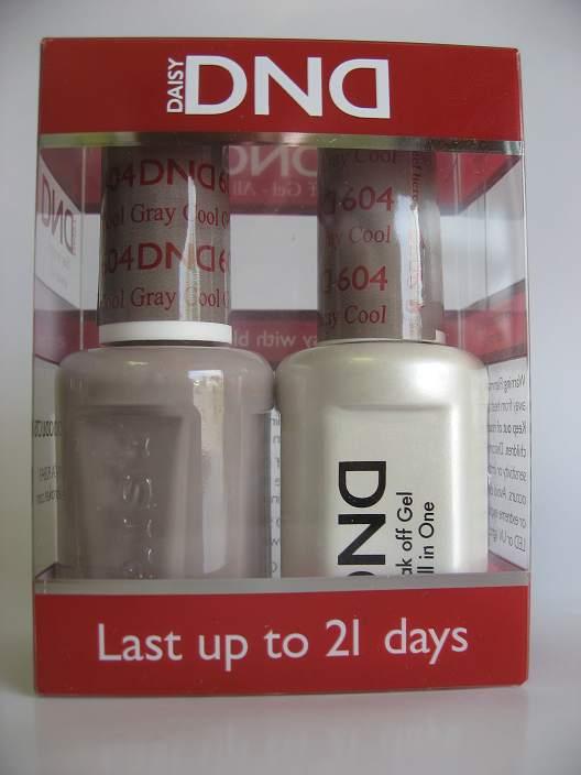 DND Gel & Polish Duo 604 - Cool Gray