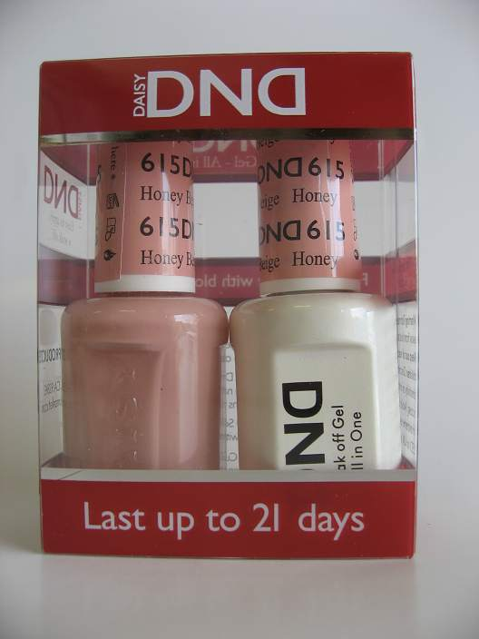 DND Gel & Polish Duo 615 - Honey Beige