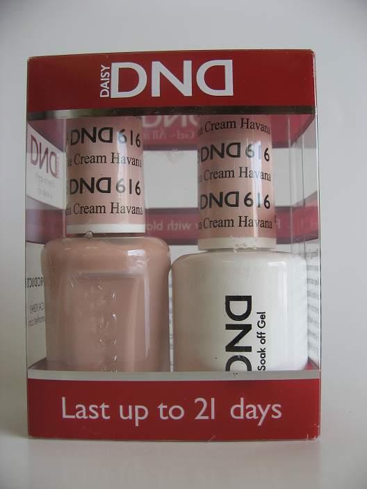 DND Gel & Polish Duo 616 - Havana Cream
