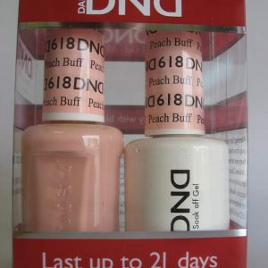 DND Gel & Polish Duo 618 - Peach Buff