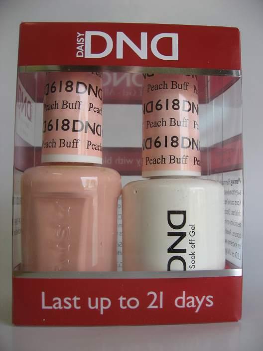 DND Gel & Polish Duo 618 - Peach Buff