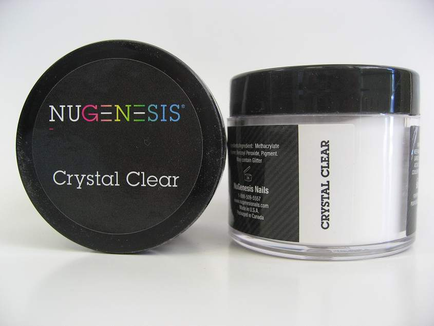 NuGenesis Dip Powder - Crystal Clear