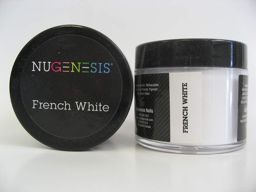 NuGenesis Dip Powder - French White