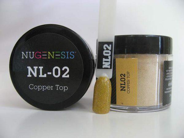 NuGenesis Dipping Powder - Copper Top NL-02