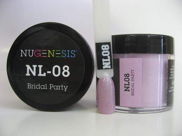 NuGenesis Dip Powder - Bridal Party NL-08