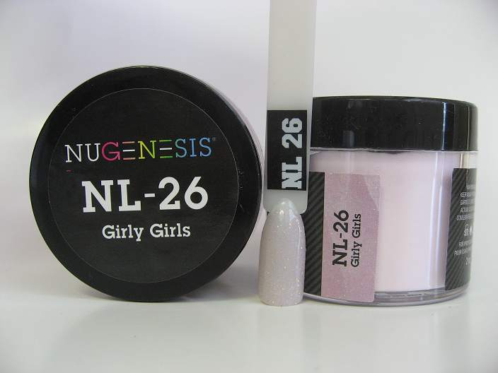 NuGenesis Dip Powder - Girly Girls NL-26