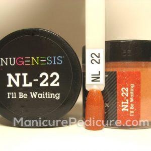 Nugenesis Dip Powder NL-22 - I'll Be Waiting