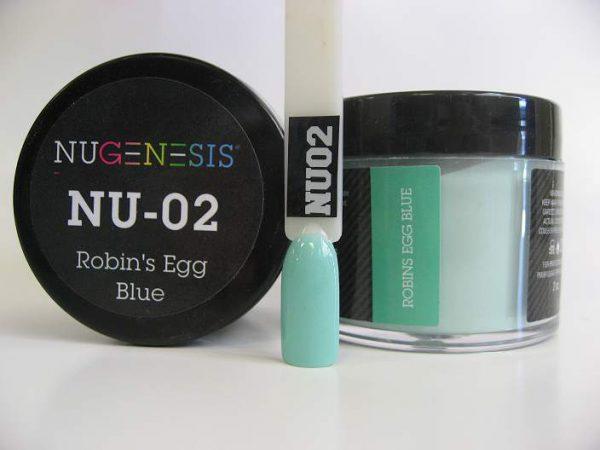 NuGenesis Dipping Powder - Robins Egg Blue NU-02