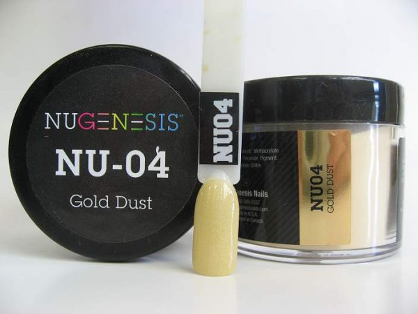 NuGenesis Dipping Powder - Gold Dust NU-04